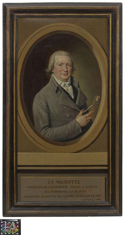 Portret van chirurg G.F. Michotte