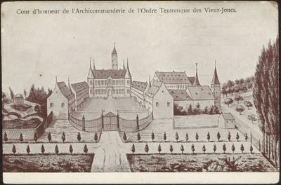 Cour d'honneur de l'Archicommanderie de l'Ordre Teutonique des Vieux-Joncs