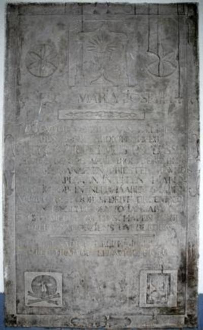 Grafsteen van pastoor P.W. Paulussen