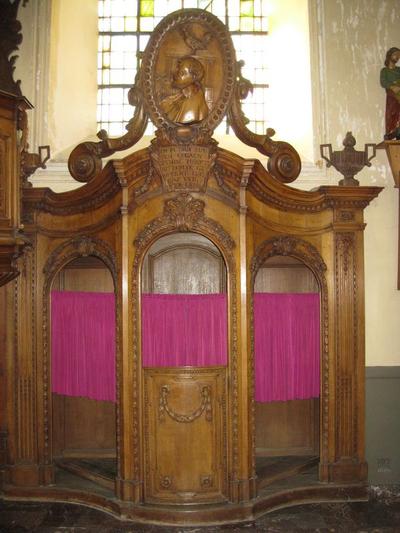 biechtstoel Petrus