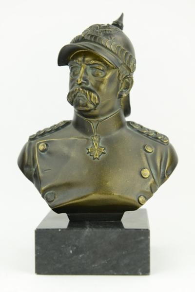 Buste van Otto von Bismarck.