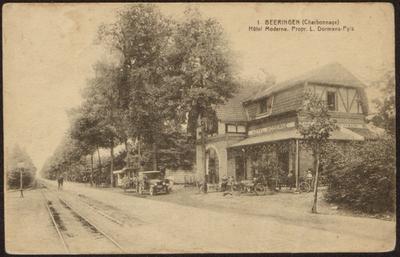 Beeringen (Charbonnage) Hôtel Moderne. Propr. L. Dormans)Pyls