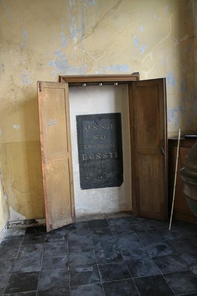 Grafsteen van Leonardus Lessius