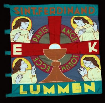 E.K.-vlag van Sint-Ferdinand Lummen
