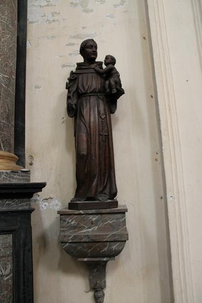 Sokkel voor het beeld van de heilige Antonius van Padua