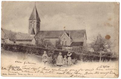 Landen St Gertrudiskerk - L'église