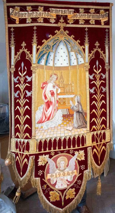 Processievaandel van het Heilig Hart