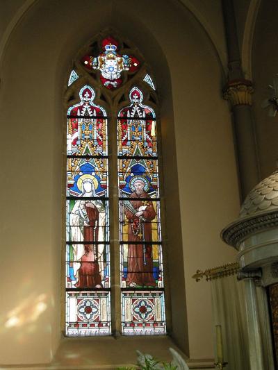 heilige Theresia van Avilla en heilige Petrus van Alcantara
