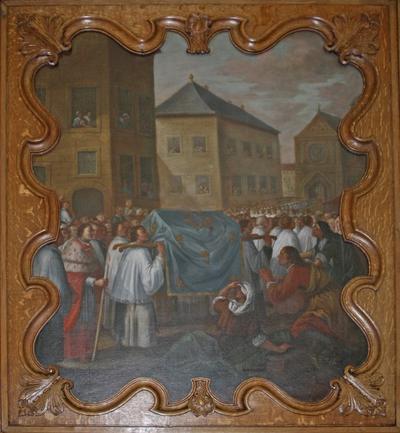 Translatatie van de relieken van de heilige Odilia van Hoei