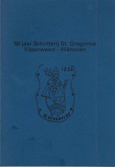 50 jaar Schutterij St.- Gregorius - Visserweert - Illekoven -1936