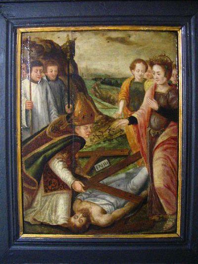 De heilige Helena vindt het ware kruis