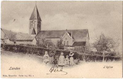 Landen St Gertrudiskerk - L' église