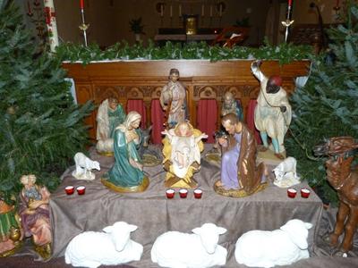 kerststalconfiguratie