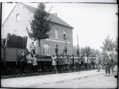 Tramrails opgebroken
