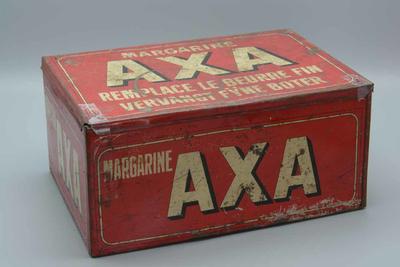 Verpakkingsdoos van boter van het merk AXA