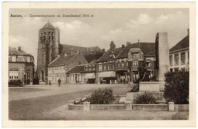 Balen-Neet Gemeenteplaats en Standbeeld 1914-18