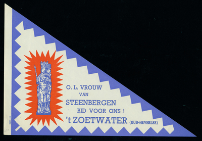 Bedevaartvaantje, O.L.V. van Steenbergen, Oud-Heverlee
