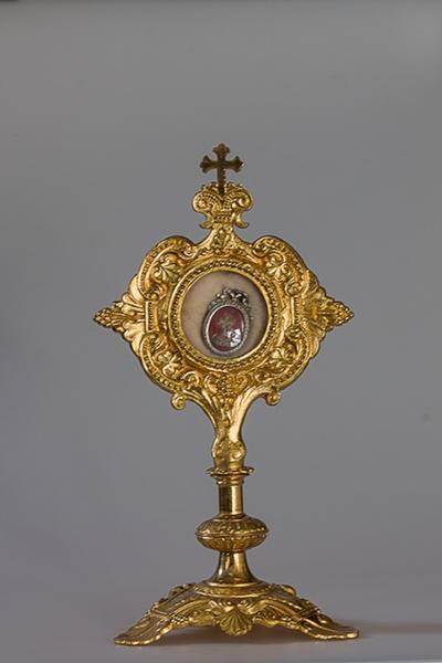Reliekhouder met reliek van het heilig Kruis