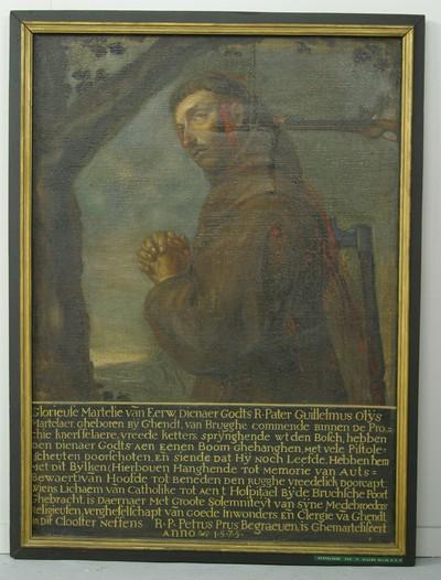 Marteling van pater Willem Olijs