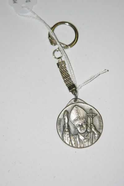 sleutelhanger Johannes Paulus II