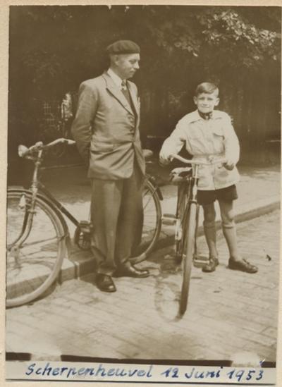 Foto van bedevaart naar Scherpenheuvel met de fiets