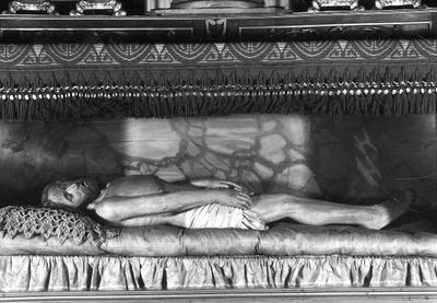 Het lichaam van Christus in het graf