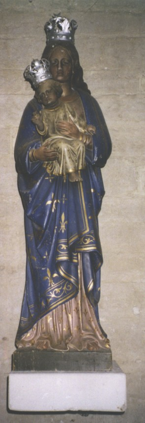 Beeld Onze-Lieve-Vrouw met Jezuskind