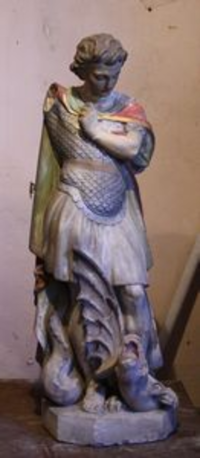 Sint Michiel verslaat de draak