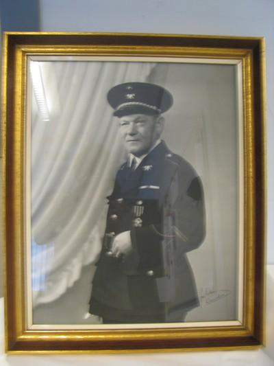 portret brandweerman Remy Van Vlasselaer