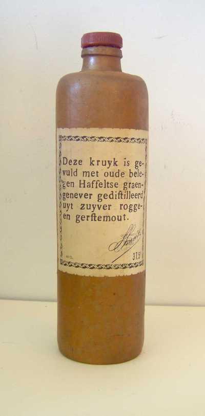 Stoop 'Oude Belegen Hasseltse graengenever' voor Smeets, Hasselt, ca. 1970-1975