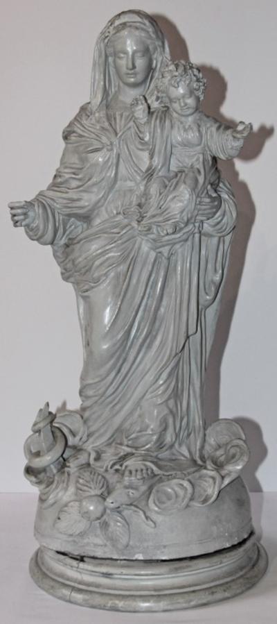 Maria Onbevlekt Ontvangen met kind