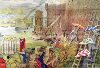 28. Bestorming van het kasteel van Bouillon