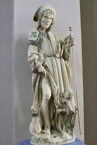 beeld H. Rochus van Montpellier