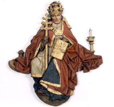 De heilige Gregorius de Grote van het triomfkruis in de Sint-Pieterskerk