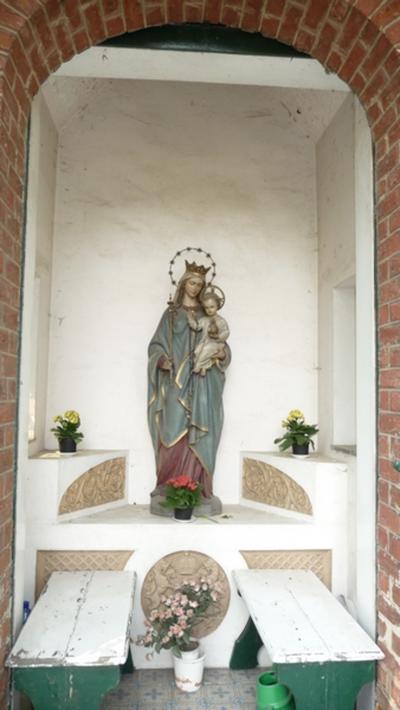 Klooster van O.L.Vrouw der VII Weeën. Grot en kapellen