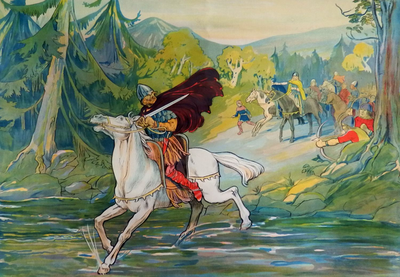 27. Ondergang van Giselbert, zoon van Reginar Lankhals