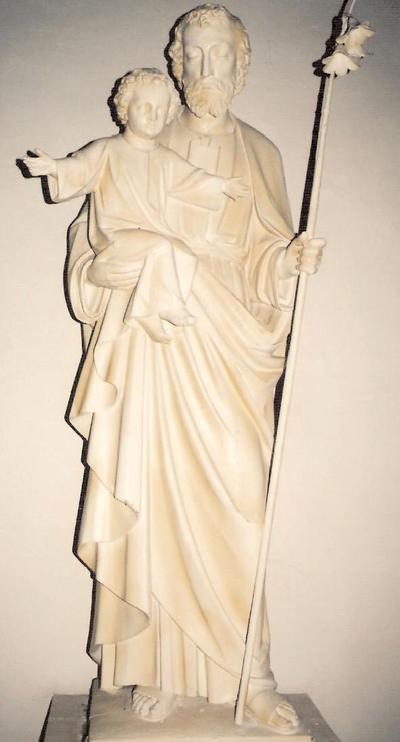 Heilige Jozef met het kindje Jezus