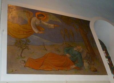 bijbelse taferelen i.v. m eucharistieviering