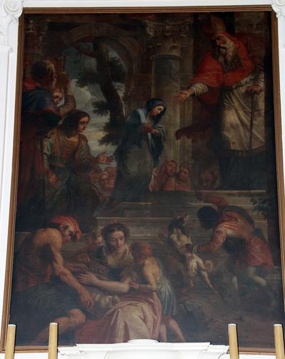 Altaarschilderij Opdracht van Maria in de tempel