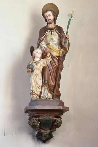 Beeld Sint Jozef met kindje Jezus