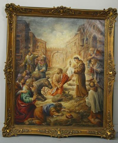 Heilige Antonius van Padua en het hostiewonder