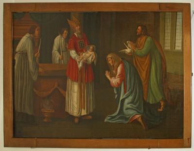 Opdracht van Jezus in de tempel