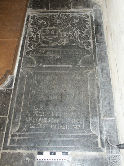 Grafsteen van Catharina Daenen