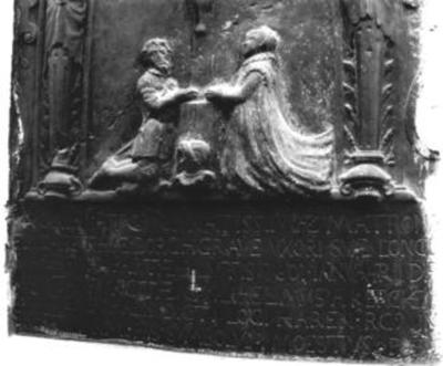 Grafsteen van Elisabeth van Borchgrave