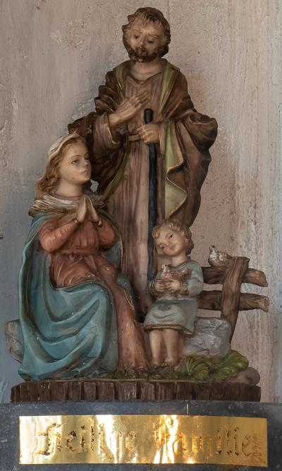 Beeld Heilige Familie Kapel Zavelstraat