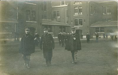 Luitenant Peleman, Luitenant Albert en Commandant Van Damme (1913).
