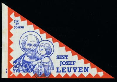 Bedevaartvaantje, Sint-Jozef, Leuven
