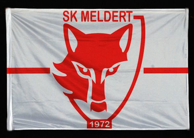 Vlag van voetbalclub SK Meldert