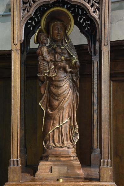 Beeld 'Sint-Anna-ten-Drieën'