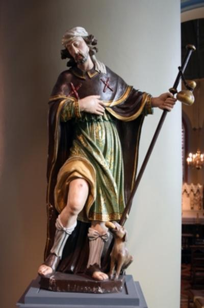 Heilige Rochus van Montpellier